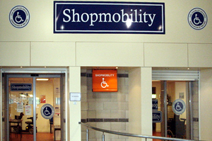 Mahon Point  Shopmobility