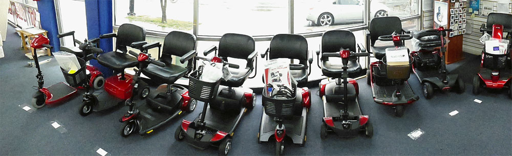 Hire a mobility scooter from Shopmobility Ireland
